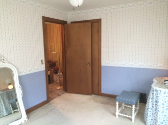 The first bedroom is now Arch's bedroom