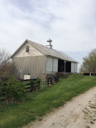 Another view of the hay barn