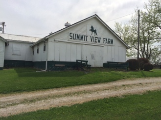The front of the horse barn displayed the name. We decided to keep the name to honor the history.